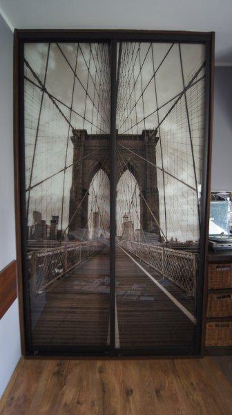 Szkło dekoracyjne - most