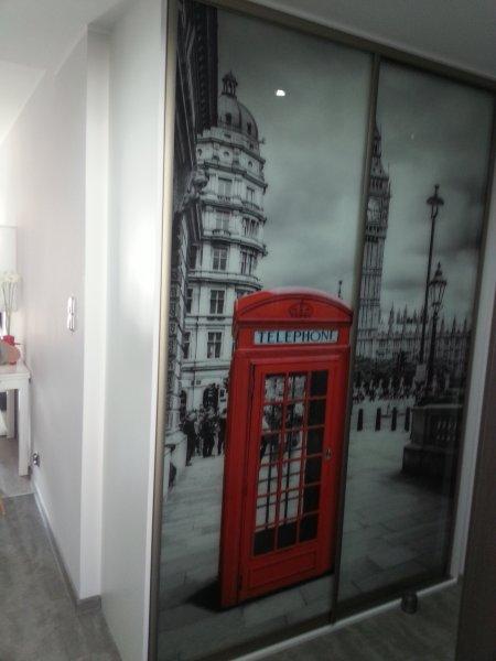 Szkło dekoracyjne - Londyn